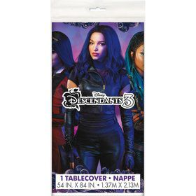 Descendants 3 Plastic Tablecover 54 x 84