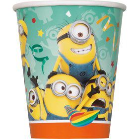 Despicable Me 9oz Cups (8 Count)