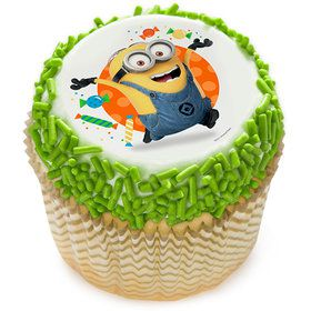 "Despicable Me Let's Party 2"" Edible Cupcake Topper (12 Images)"