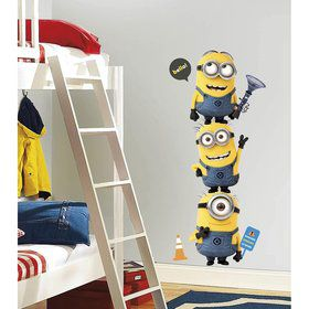 Despicable Me Minion Wall Decal (Each)