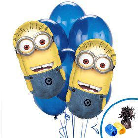 Despicable Me Minions Jumbo Balloon Bouquet Kit