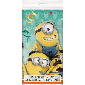 Despicable Me Plastic Table Cover (Each)
