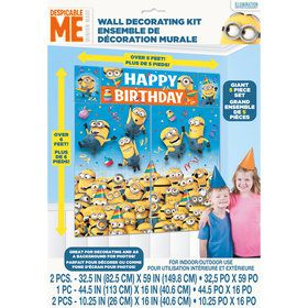Despicable Me Wall Decorating Kit (5 Pieces)
