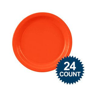 Dessert Plate - Pumpkin Orange (24)