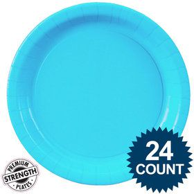 Dinner Plate - Aqua (24)