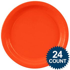 Dinner Plate - Pumpkin Orange (24)