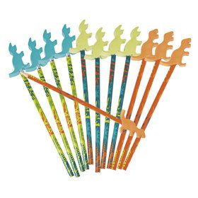 Dino Dig Pencils With Erasers (12)