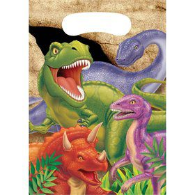 Dinosaur Adventure Loot Bags (8-pack)