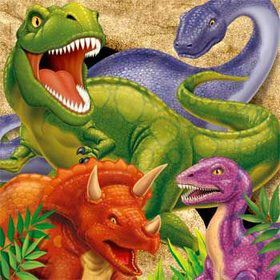 Dinosaur Adventure Napkins (16-pack)