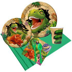 Dinosaur Adventure Party Pack For 8