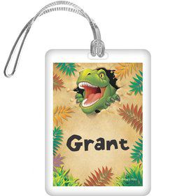Dinosaur Adventure Personalized Bag Tag (each)
