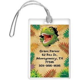 Dinosaur Adventure Personalized Luggage Tag (each)