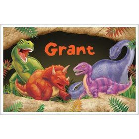 Dinosaur Adventure Personalized Placemat (each)
