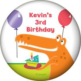Dinosaur Birthday Personalized Magnet (each)