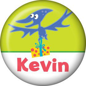 Dinosaur Birthday Personalized Mini Magnet (each)