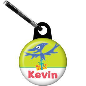 Dinosaur Birthday Personalized Zipper Pull (each)