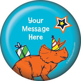 Dinosaur Fun Personalized Button (Each)