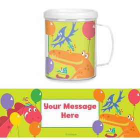 Dinosaur Party Personalized Favor Mugs (Each)