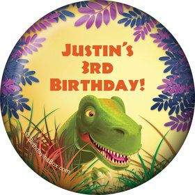 Dinosaur Party Personalized Magnet (each)