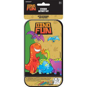 Dinosaur Sticker Activity Box