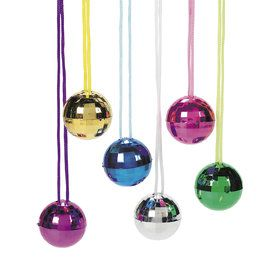 Disco Ball Necklaces (12)