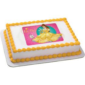 Disney Belle Quarter Sheet Edible Cake Topper (Each)