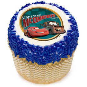 "Disney Cars 2"" Edible Cupcake Topper (12 Images)"