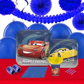 Disney Cars 3 16 Guest Tableware and Deco Kit