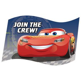 Disney Cars 3 Invitations (8)