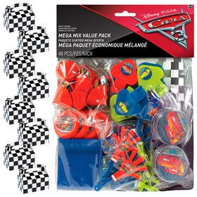 Disney Cars Filled Favor Box Kit (for 8 Guests)