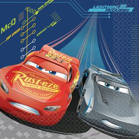 Disney Cars Luncheon Napkins (16 Pack)