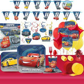Disney Cars Ultimate Tableware Kit (For 8 Guests)