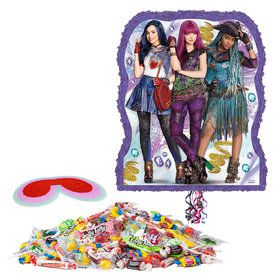 Disney Descendant Pull String Bag Pinata Kit