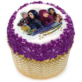 """Disney Descendants 2 Wicked Cool 2"""" Edible Cupcake Topper (12 Images)"""
