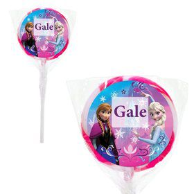 "Disney Frozen 2"" Personalized Lollipops (20 Pack)"