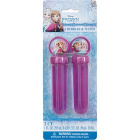 Disney Frozen Bubble Party Favors (2)