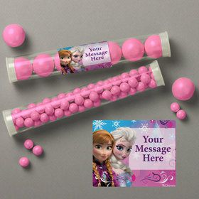 Disney Frozen Personalized Candy Tubes (12 Count)