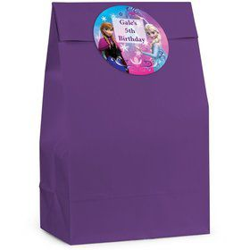 Disney Frozen Personalized Favor Bag (12 Pack)