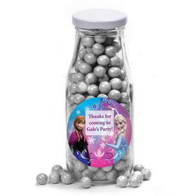 Disney Frozen Personalized Glass Milk Bottles (12 Count)