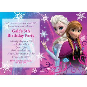 Disney Frozen Personalized Invitation (Each)