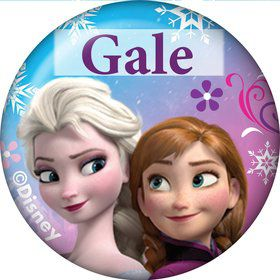 Disney Frozen Personalized Mini Button (Each)