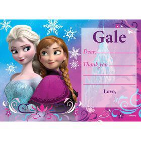 Disney Frozen Personalized Thank You (Each)
