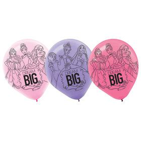 "Disney Princess 12"" Latex Balloons (6 Pack)"