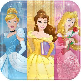 "Disney Princess 9"" Luncheon Plates (8 Pack)"