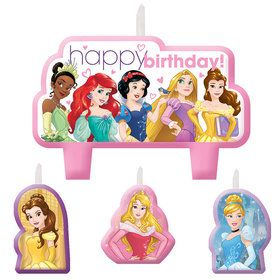 Disney Princess Birthday Candle Set (4 Pack)