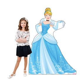 Disney Princess Cinderella Standup - 5' Tall