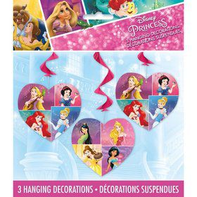 "Disney Princess Dream Big 26"" Hanging Swirls (3)"