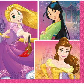 Disney Princess Dream Big Beverage Napkins (16)