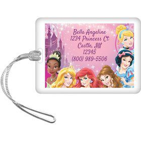 Disney Princess Personalized Luggage Tag (Each)