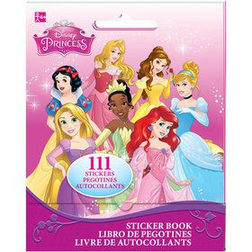 Disney Princess Sticker Book (9 Sheets)